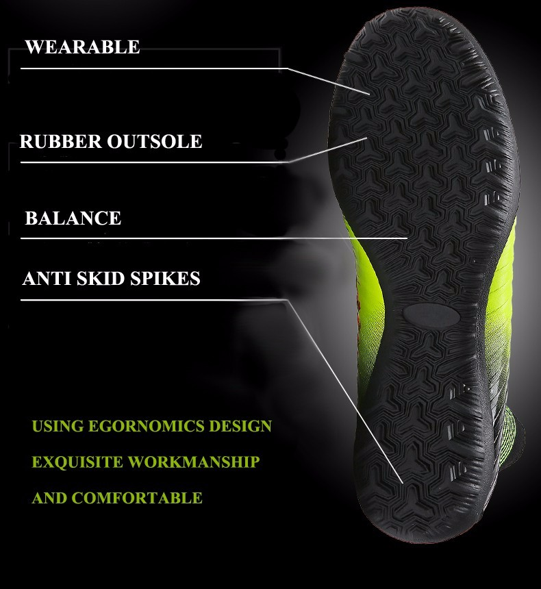 2017 High Quality Cheap Indoor Soccer Shoes Cleats High Ankle Kids Football Boots Superfly Original Boys Girls Sneakers5