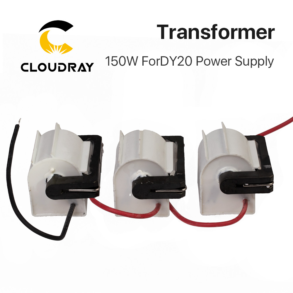 Cloudray RECI DY20 High Voltage Flyback Transformer For 130W 150W 3pcs lot Co2 Laser Power Supply