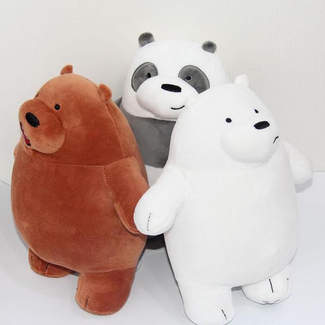 Pz cm we nudo bears peluche di bambola popolare cartone