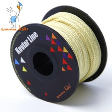 30m 500lb Kite Line String for Large Single Line Kite Flying Braided Kevlar Fishing Line Outdoor Camping Backpacking Cord