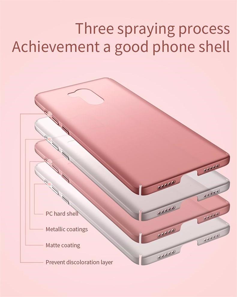 Luksusowe mocno plecy plastikowe matte case dla xiaomi redmi 4 pro przypadki przypadku xiaomi redmi 4 pełna pokrywa pc telefon komórkowy pokrycie p35 5
