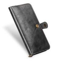 Luxury true leather vintage matte wallet phone case for iPhone X / 6S / 6 PLUS / 7/8 PLUS / XS / XR / XS MAX phone case