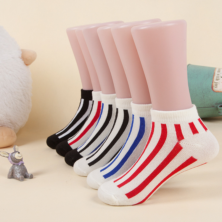 6 Pair lot New Soft Cotton Boys Girls Socks Cute Cartoon Pattern Kids Socks For Baby Boy Girl 7 Kinds Style Suitable For 1 11Y in Socks from Mother Kids