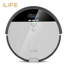 ILIFE V8s пылесос-робот с 0.75L пылесборником , водяной бак с регулируемым объёмом потока , сложная и  сухая уборка,планируемая чистка времени