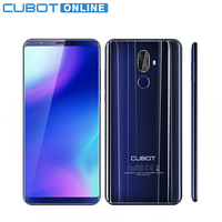Cubot X18 Plus Android 8 0 18 9 FHD 4GB 64GB 5 99 Inch Smartphone MT6750T