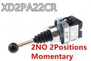 Image 4 - 4NO 4 pozycja krzyż przełącznik kołyskowy XD2PA14 XD2PA24 joystick kontrolery/2NO 2 pozycja przełącznik kołyskowy XD2PA12 XD2PA22