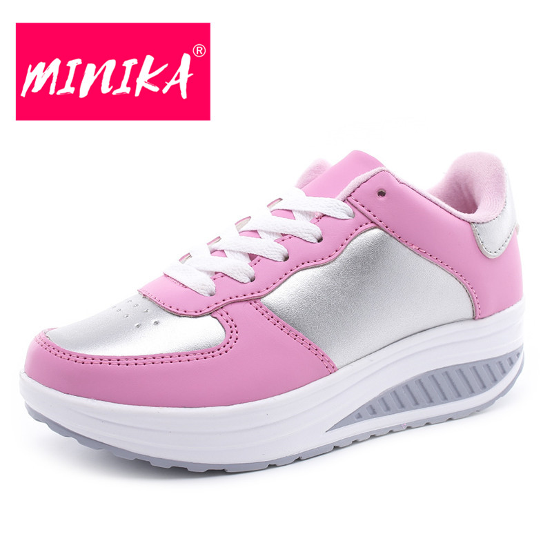 MINIKA New Arrival 2017 Casual Shoes Women Multicolor Optional Comfortable Women Flat Shoes Fashion Patchwork Platform Shoes women s shoes 2017 summer new fashion footwear women s air network flat shoes breathable comfortable casual shoes jdt103