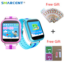 Original GPS smart watch Q100 baby watch with Wifi SOS Call Location Device Tracker for Kid