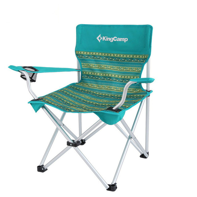Outdoor camping portable back arm comfortable speed open folding beach chair
