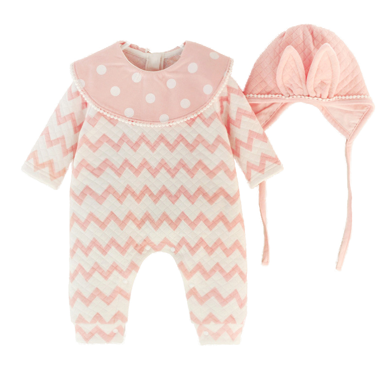 Newborn Toddler Baby Boys Clothes Long Sleeve Rompers Cotton Striped Jumpsuit Baby Boy Outfits Autumn Clothing