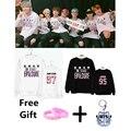 Harajuku Bangtan Boys BTS KPOP sweatershirt o neckhoody Jimin Jung kook Jin J hope V Suga Rap monster harajuku Outerwears