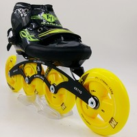 Marcus professional Roller skates shoes For adult male and female children's speed inline skate shoes with G13 wheels