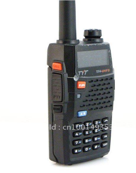 New Arrival TYT TH-UVF9 Dual Band VHF/UHF 136-174MHz & 400-470MHz 5W Handheld Two-way Radio