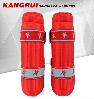 Kangrui саньда щитки Размеры S-L тхэквондо карате боевые искусства для взрослых и детей голени защитные щитки Окорок протектор