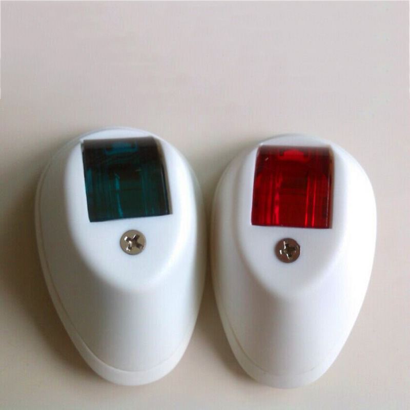 Image 2 - 1 Pair Boat Yacht Navigation Light 12V Plastic Starboard Port Light Red Green-in Marine Hardware from Automobiles & Motorcycles