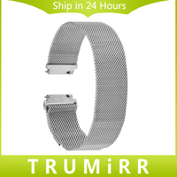 16mm 18mm 20mm 22mm Milanese Loop Strap For Longines L2 L3 L4 Master Conquest Stainless Steel