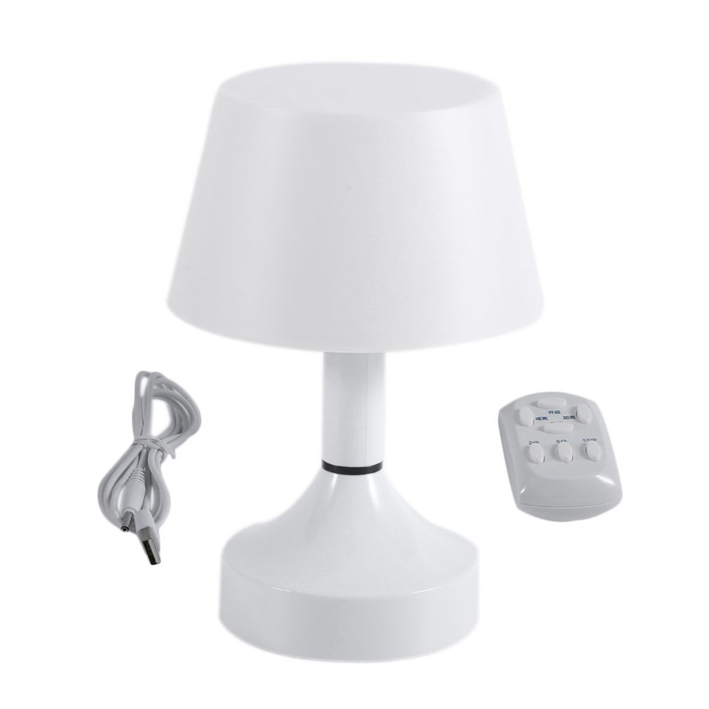 Smart USB Rechargeable Lamp With Remote Control Wireless Unique Modern Night Lights Desk LED Light For Living Room