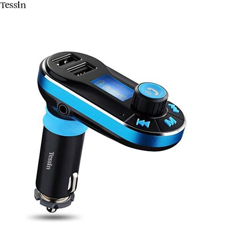 ©Tessin автомобиля Bluetooth Зарядное устройство ЖК-дисплей ...