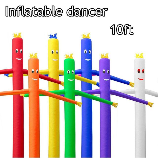 a757f797881 10ft Wind Dance r Tube Man Cartoon Inflatable Dancing Air Puppet Out Door Air  Sky Dancing Man For Advertising