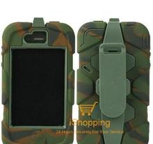Military Survival Series Case for iPhone 5 5G 5S SE Tough Shockproof Armor Kickstand Kick Stand Survive Duty Case for iPhone 5s