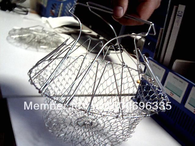 Free shipping chef basket as seen as on tv fry basket magic basket