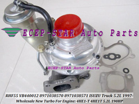 RHF55 VIBA VA440012 8971038570 VB440012 VD440012 Turbo Turbine Turbocharger For ISUZU NQR Truck 97 4HE1 4HE1T 4HE1 T 5.2L 190HP