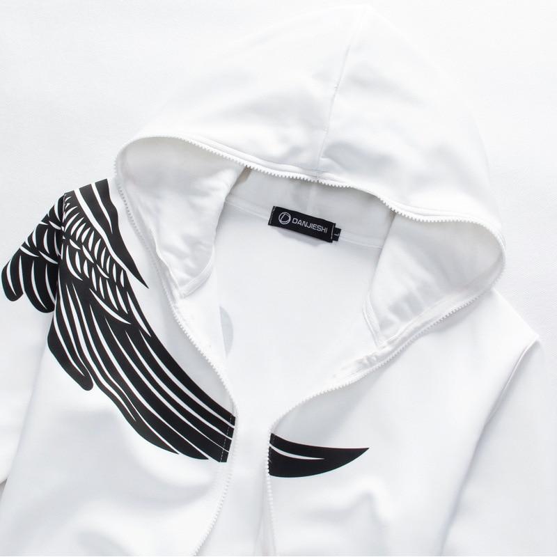 Olahraga Pria Set Musim Gugur Musim Semi Kaus Berkerudung Kasual Set - Pakaian Pria - Foto 5
