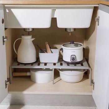 Домашний шкаф, органайзер для хранения, полка для кухонной стойки, компактный шкаф, декоративные полки для шкафа, держатели