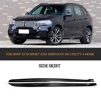 Черные автомобильные фартуки из углеродного волокна для BMW X5 M Sport X5M xDrive35i 50i utile 4 двери 2014 2018