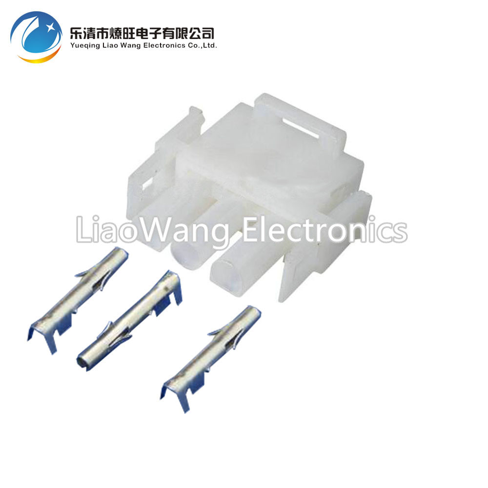Motorcycle Wiring Harnes Connector: 10 PCS Elevator FCI 3 Pin Wire Connector Motorcycle Male