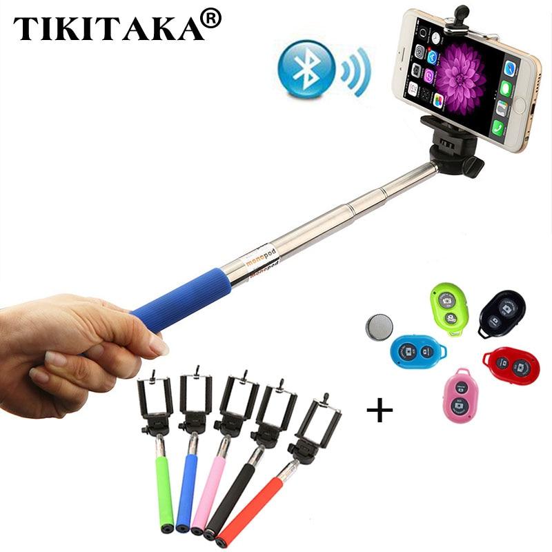 fashion extendable self selfie stick handheld monopod clip holder bluetooth s. Black Bedroom Furniture Sets. Home Design Ideas