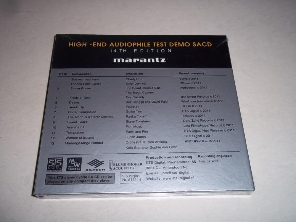 marantz 14 Edtion High End Audiophile Test Demo SACD CD NEW