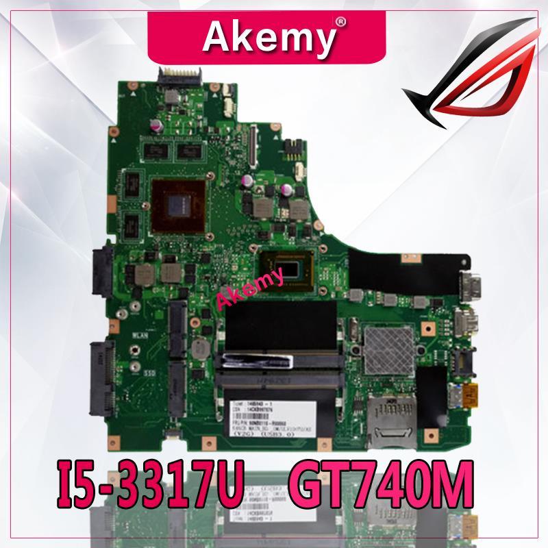 Akemy K46CB/K46CM laptop motherboard for ASUS K46CB K46CM K46C K46 Test original mainboard I5-3317U GT740MAkemy K46CB/K46CM laptop motherboard for ASUS K46CB K46CM K46C K46 Test original mainboard I5-3317U GT740M