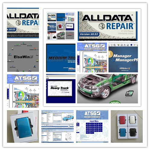 V10.53 Alldata Mitchell On Demand Auto Repair Software All Data + Elswin+vivid Workshop Data+ Atsg 49in1 Hdd 1tb Dhl Free