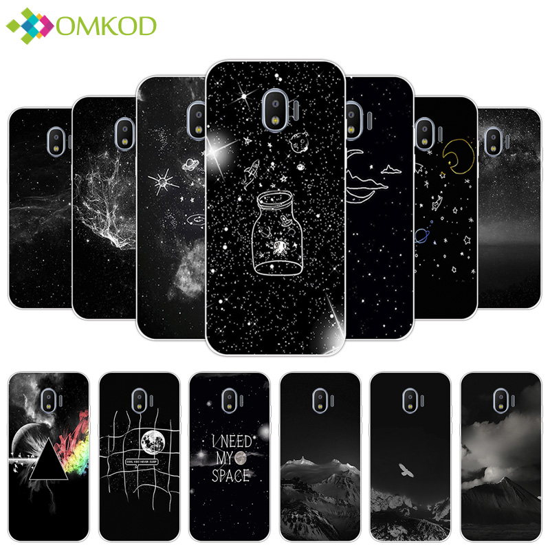 for <font><b>Galaxy</b></font> <font><b>J2</b></font> Pro <font><b>2018</b></font> <font><b>J250f</b></font> Soft Silicone Starry Case 5.0