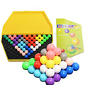 New Hot  IQ Pyramid Logic Toy Shopkin toy Mind Brain Teaser Educational Game Toys Brain Teaser Magic Puzzle Ball Beads