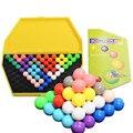 Nueva Caliente Pirámide IQ Juguete Lógica Shopkin juguete Mind Game Juguetes Rompecabezas de Rompecabezas Educativos Rompecabezas Mágico Granos de la Bola