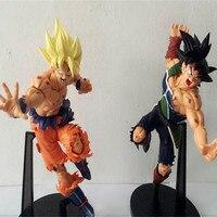 Hot Toys Dragon Ball Z Goku Fighting Shape PVC Action Toy Figures 21cm Brinquedo Model Juguete