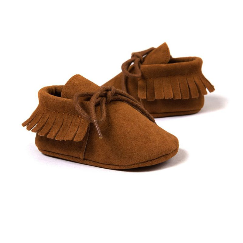 Tassels PU Leather Baby Shoes Baby Moccasins Newborn Shoes Soft Infants Crib Shoes Sneakers First Walker