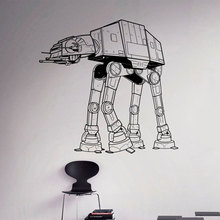 AT Walker Wall Vinyl Decal Star Wars Theme Sticker Home Interior Living Room Bedroom Decor Removable Custom Mural A122