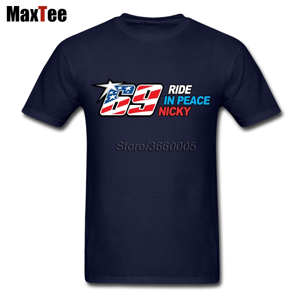 RIP Kentucky kid Nicky hayden 69 Tees Shirt For Men Personality Custom Short Sleeve Valentines XXXL Group Shirts