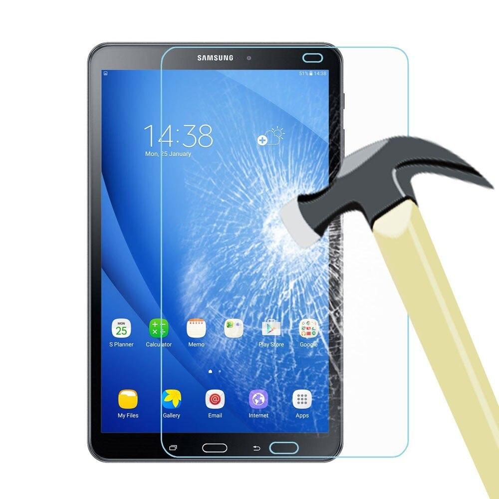 Verre trempé pour Samsung Galaxy Tab A A6 10.1 2016 2019 10.5 2018 T580 T585 T510 T515 T590 T595 P580 P585 Protecteur D'écran