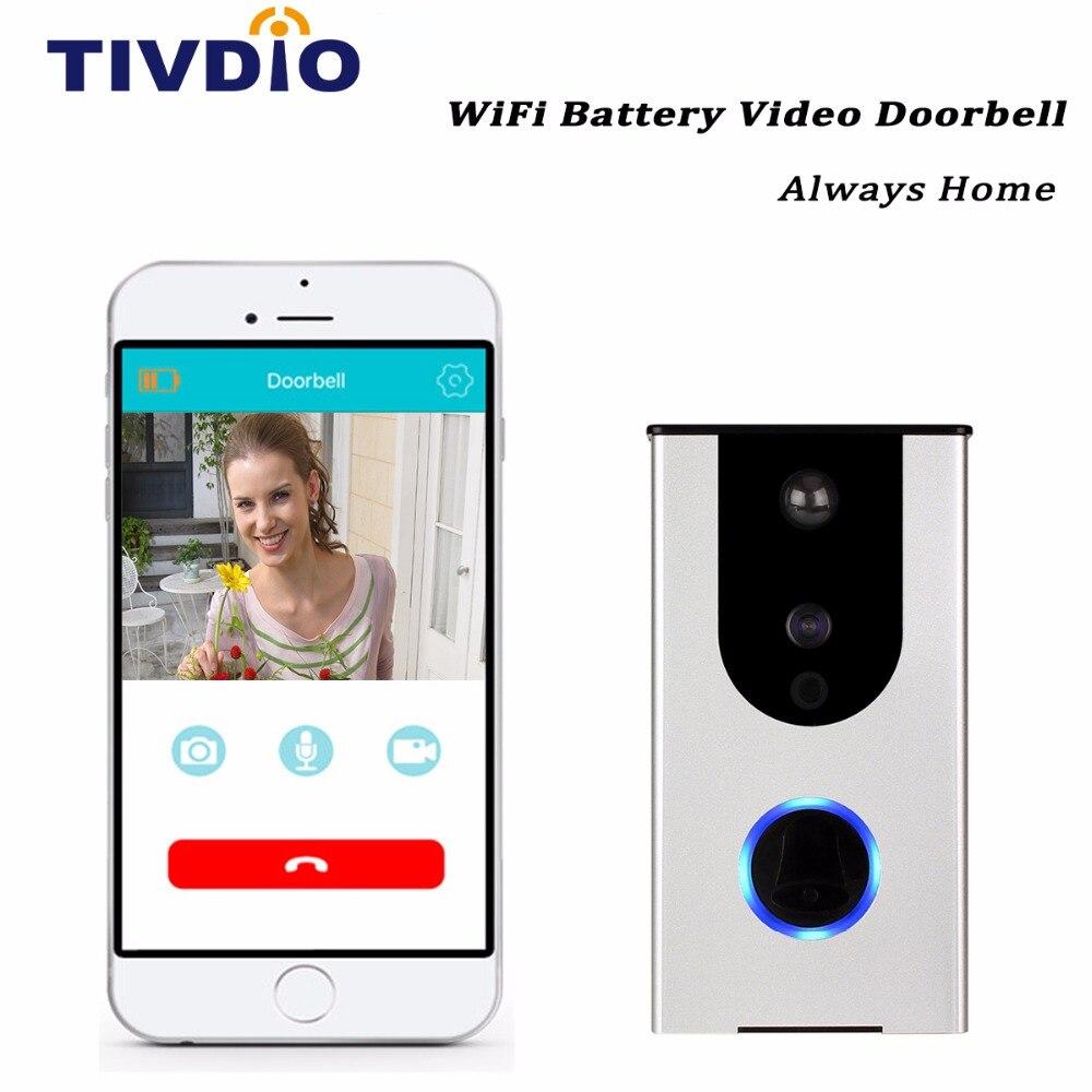 HD Wi-Fi Doorbell Camera 720p Wireless Video Doorbell Home Surveillance Camera Smart Home iOS&Android APP IR Night Vision F1396D wi fi адаптер sat integral 1210 hd в киеве