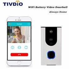 HD Wi-Fi Sonnette Caméra 720 p Sans Fil Vidéo Sonnette Caméra de Surveillance À Domicile Maison Intelligente iOS & Android APP IR Nuit Vision F1396D