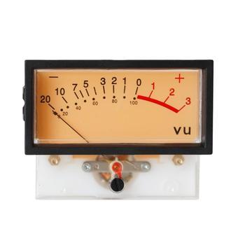 גבוהה דיוק VU מד זרם DB מד כוח פריקה שטוח מטר מיקסר כוח מטר עם תאורה אחורית מד מכאני עוצמת זרם חשמלי