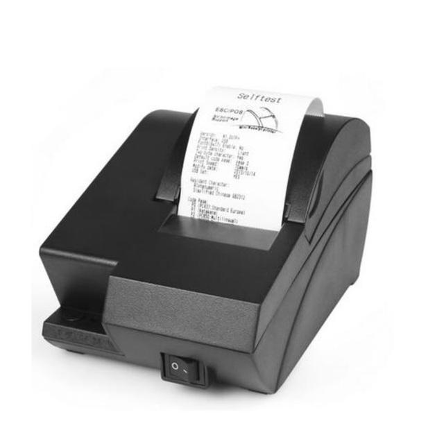 58L mini línea de impresoras térmicas portátiles ketchen restaurante cajero POS bill impresora impresoras de alta velocidad de bajo ruido
