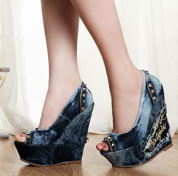 Cool Wedge Shoes Promotion-Shop for Promotional Cool Wedge Shoes