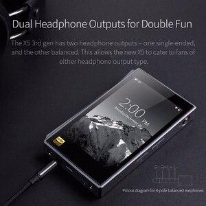 Image 5 - FIIO X5III X5 3nd Gen Android WIFI APTX podwójny AK4490 bezstratny przenośny odtwarzacz muzyki z wbudowanym pamięcią 32G
