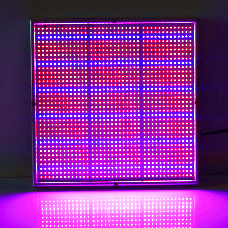 (20W:289leds) (120W:1365leds) Red 640nm 680nm & Blue 460nm 480nm Plane LED Plant Grow Light люстра leds c4 margaritaville 20 2225 t1 55