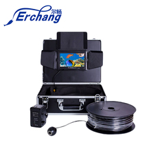 Erchang 8G 100M 9″7″Video Fish Finder 1000TVL Lights Controllable Underwater Fishing Camera Kit Ice Lake Under Water For fishing